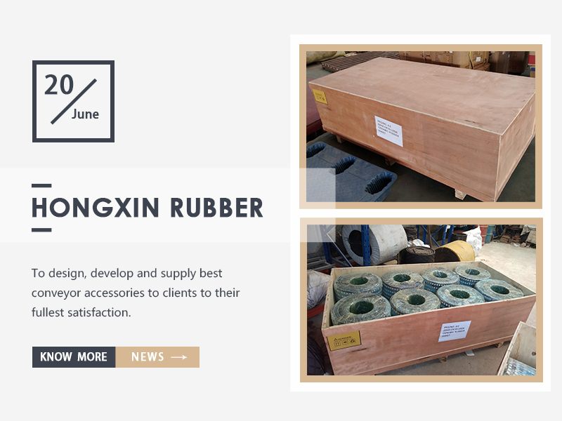 New design ceramic rubber sheet has been shipped to clients from Chile